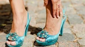 Fußschmerzen durch falsche Schuhe